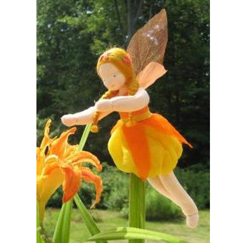 Orange Blossom Fairy Doll by Evi Dolls