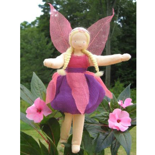 Rose Blossom Fairy Doll by Evi Dolls