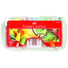 Faber-Castell Oil Pastels, Set of 12 - Bella Luna Toys