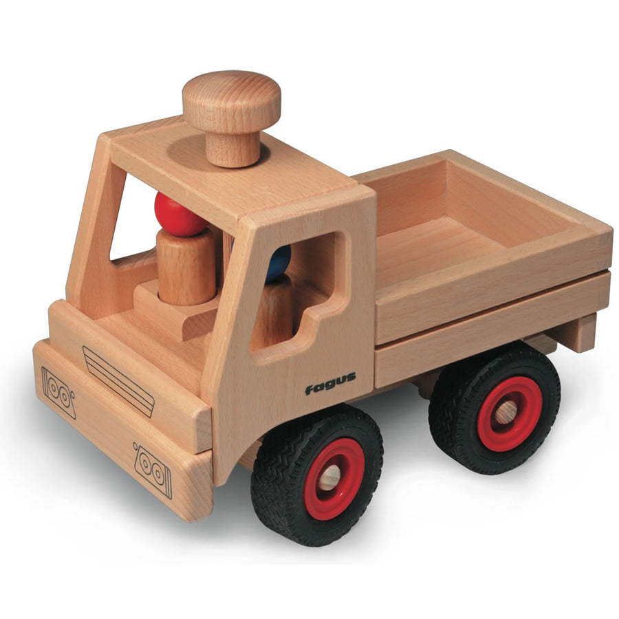 Fagus Basic Wooden Toy Truck Unimog