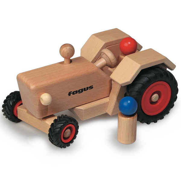 Fagus Old Fashioned Wooden Toy Tractor