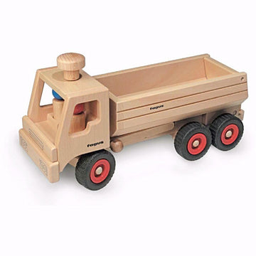 Wooden Toy Container Tipper Dump Truck - Fagus 10.30 - Made in Germany