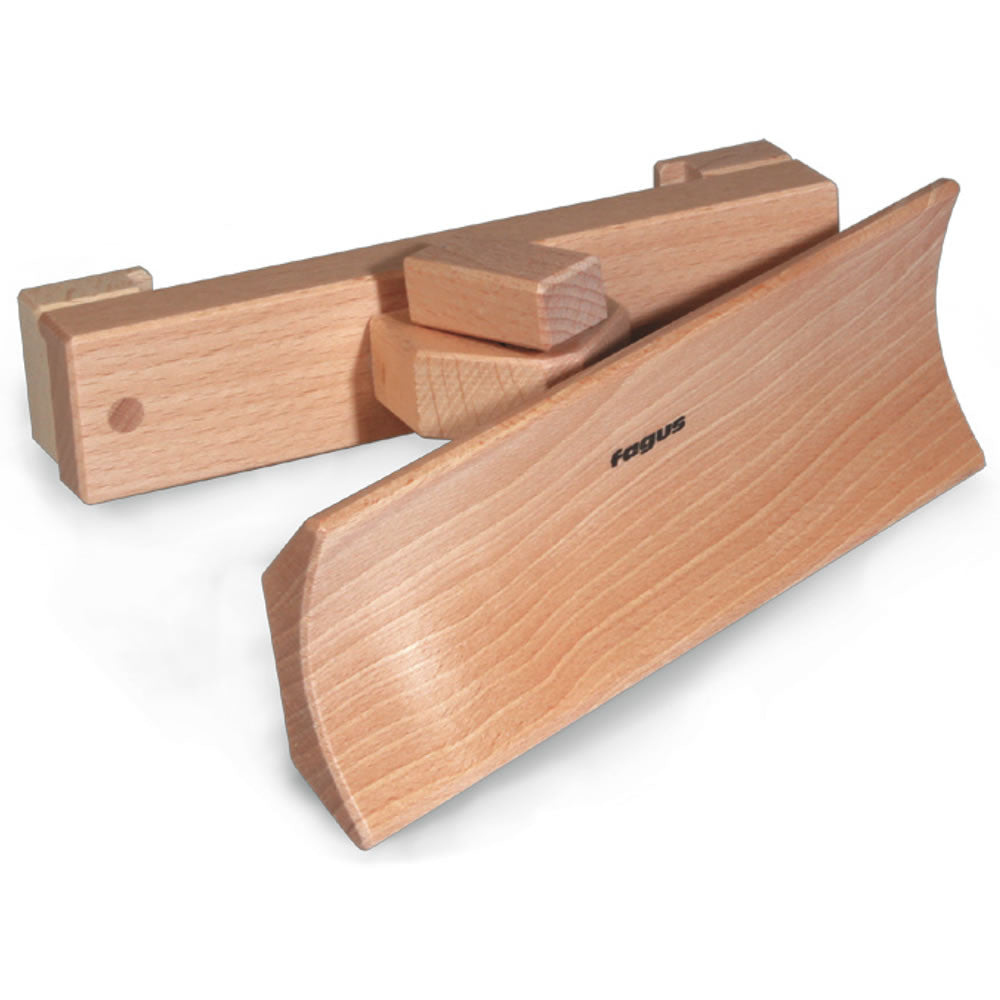 snow plow for basic wooden truck