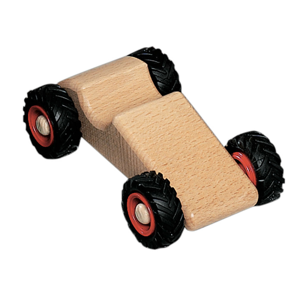 Toy Race Trucks : Fagus speedy wooden toy race car vehicles