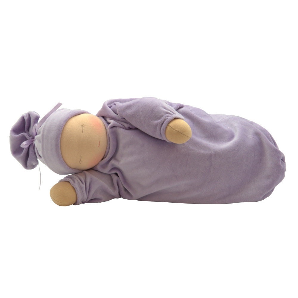 Heavy Baby Waldorf Doll - Fair/Lavender