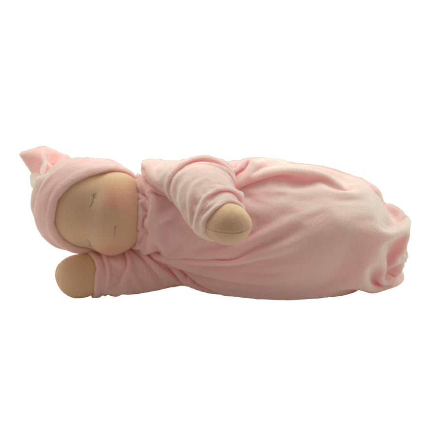Heavy Baby Waldorf Doll - Fair/Pink