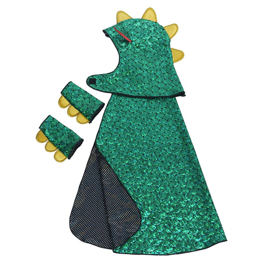 Fairy Finery - Dragon & Knight Reversible Costume - Dress-Up Cape