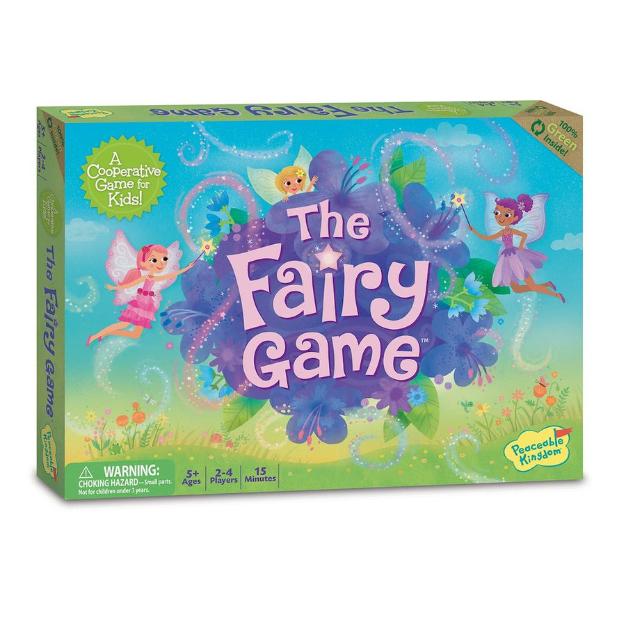 The Fairy Game - Cooperative Games - Peaceable Kingdom - Bella Luna Toys