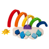 Rainbow Shape Stacking Toy - Bella Luna Toys