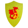 Fauna Trade - Wooden Toy Knight's Shield - Green with Red Dragon Emblem