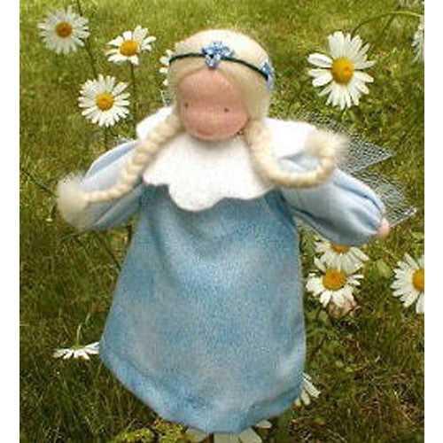 Evi Waldorf Flower Fairy Doll, Bluebell