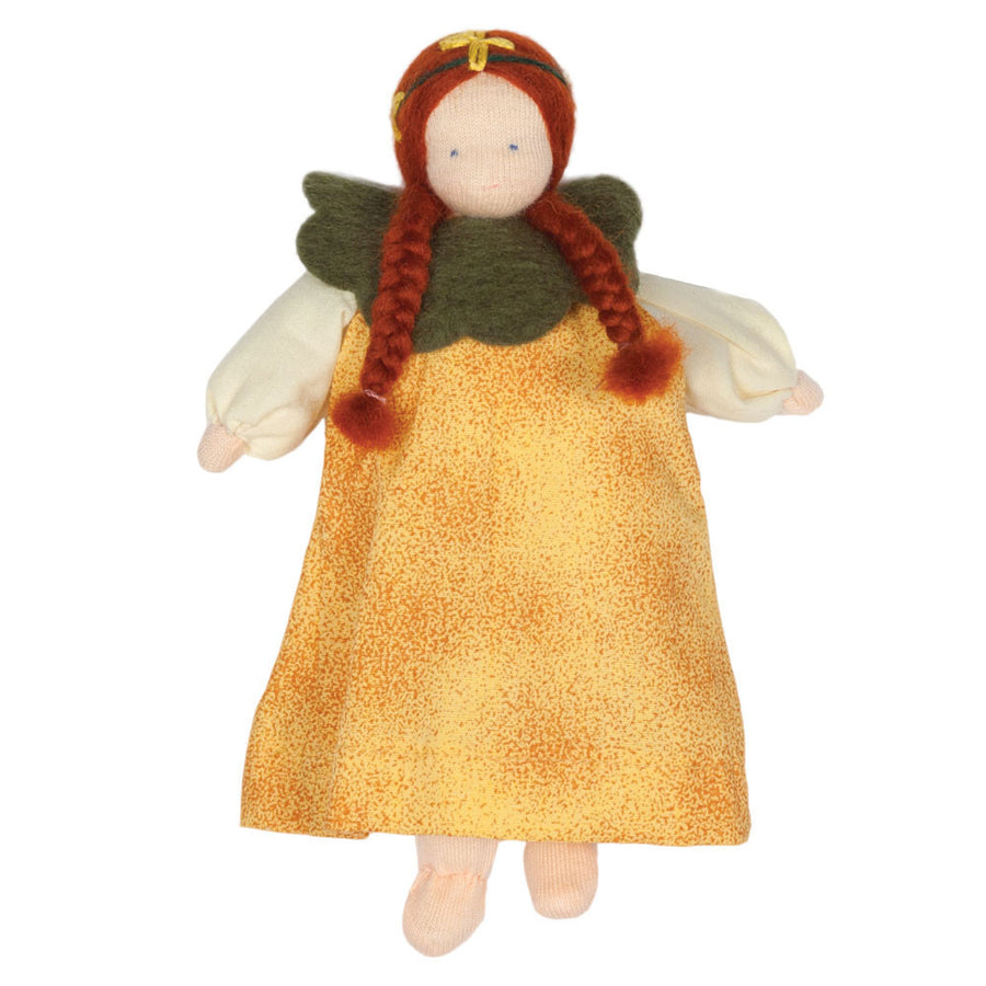 Evi Waldorf Flower Fairy Doll, Yellow