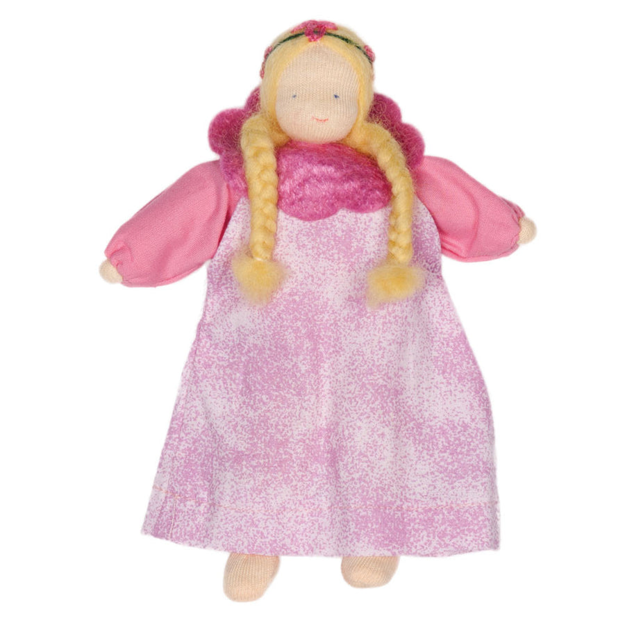 Evi Waldorf Flower Fairy Doll, Rose Pink