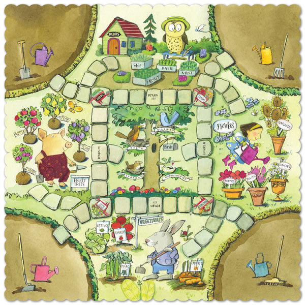 Gathering a Garden - Game Board