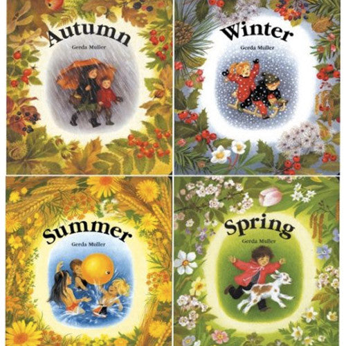 Four Seasonal Board Books by Gerda Muller
