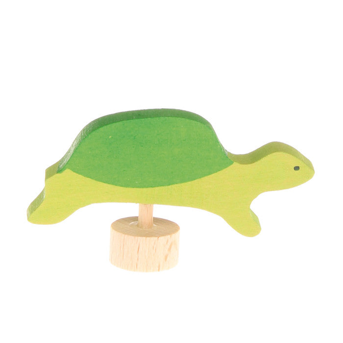 Birthday Ring Decoration - Green Turtle