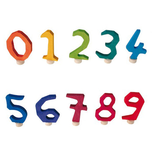 Waldorf Birthday Ring Numbers
