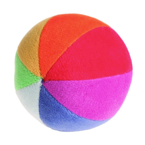 Grimm's Soft Rainbow Ball - Baby, Toddler Toy