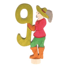 Grimm's Fairy Tale Birthday Ring Numbers - 9 - Musketeer