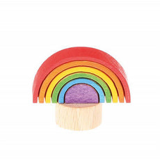 Rainbow Wooden Birthday Ring Decoration | Grimm's Spiel & Holz