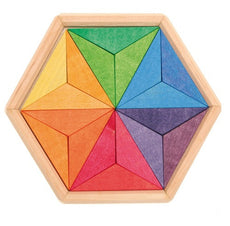 Grimms Wooden Star Puzzle