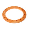 Grimm's Wooden Waldorf Birthday Ring - 16 Holes - Natural - Bella Luna Toys