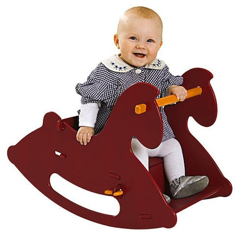 Moover Rocking Horse, Red - Bella Luna Toys