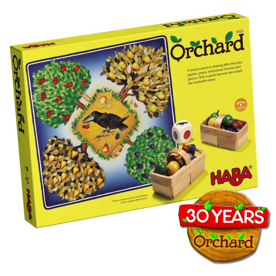 HABA Orchard Cooperative Board Game - Bella Luna Toys