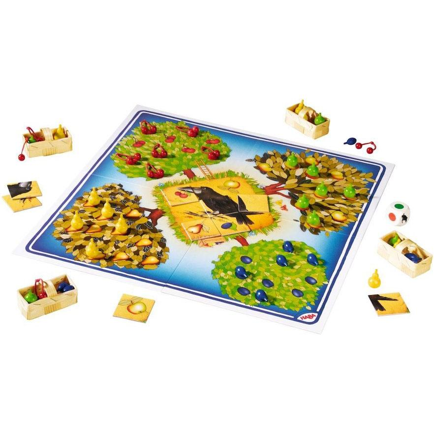 HABA Orchard Cooperative Game Board - Bella Luna Toys