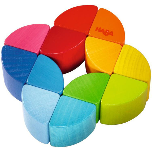 HABA - Rainbow Ring Wooden Clutching Toy