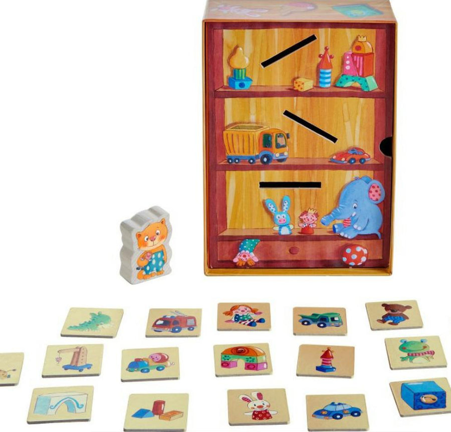 Tidy Up Game - Contents - Haba - Bella Luna Toys