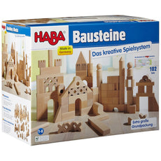 HABA Extra Large Wooden Building Blocks 1077 - Bella Luna Toys