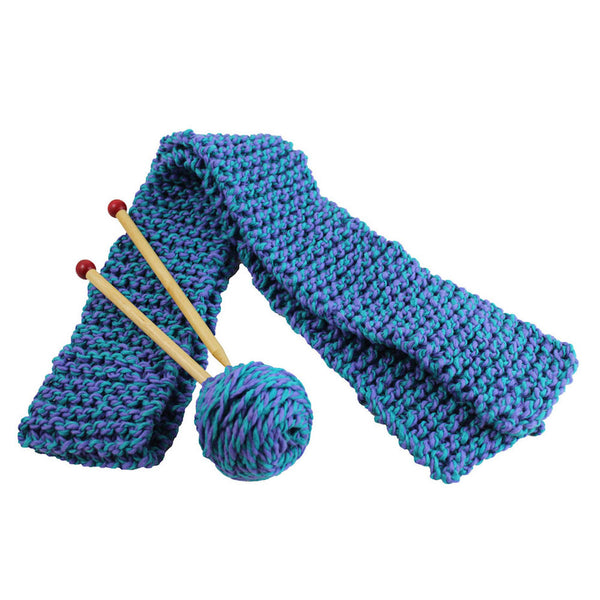 Knitting A Scarf Quickly : Kids knitting kit knit a scarf quick to
