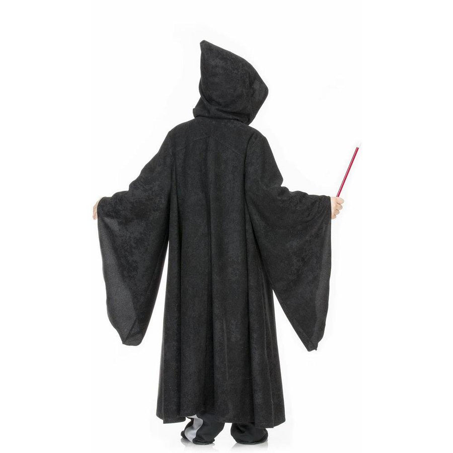 Kid-s Black Wizard-s Cape Costume | Harry Potter | Hermione | Rear | Bella Luna Toys