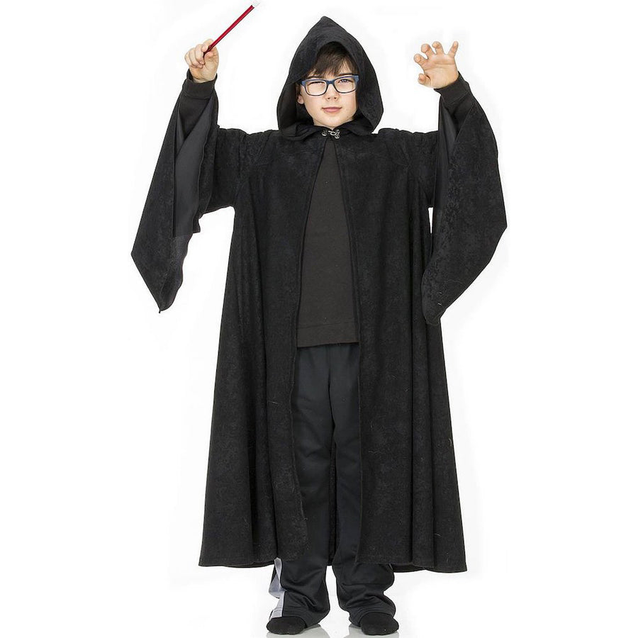 Kid-s Black Wizard-s Cape Costume | Harry Potter | Hermione | Bella Luna Toys