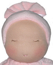 Heavy Baby Waldorf Doll, Face Detail