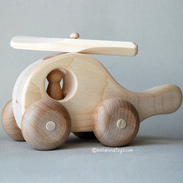Wooden Helicopter