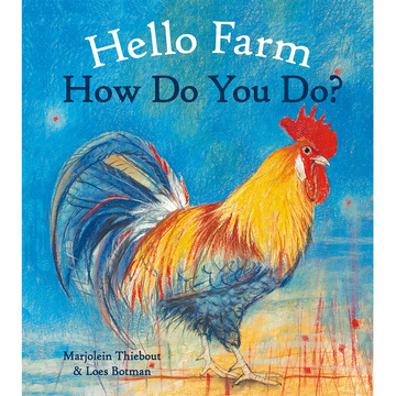 Hello Farm, How Do You Do? - Board Book - Bella Luna Toys