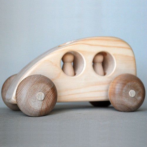Wooden Toy Car - Hybrid