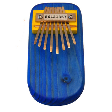 Wooden Thumb Piano Kalimba, Blue