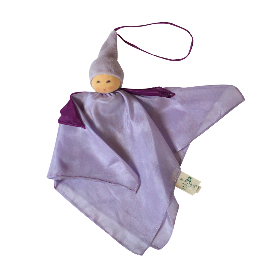 Small Kerchief Fairy Doll - Purple - Nanchen - Bella Luna Toys