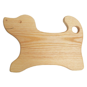 Kids Wooden Cutting Board, Dog