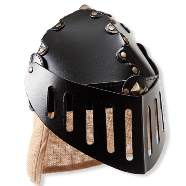 Kid's Knight's Helmet With Jute