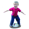 Balancing on Wooden Balance Board Junior