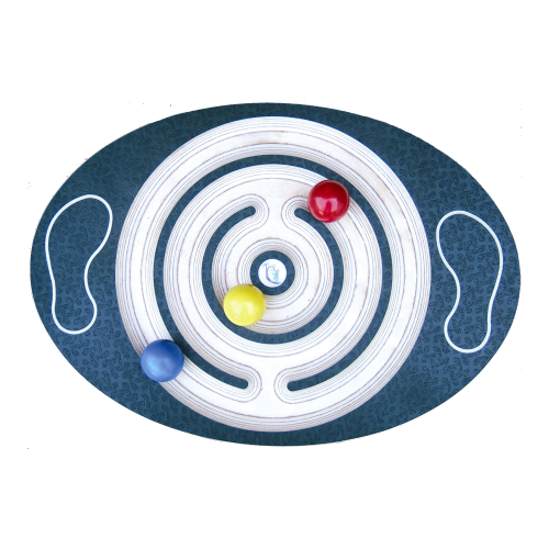 Labyrinth Wooden Balance Board  Junior
