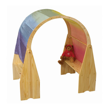 Waldorf Wooden Playstands with Canopy Arch | Bella Luna Toys