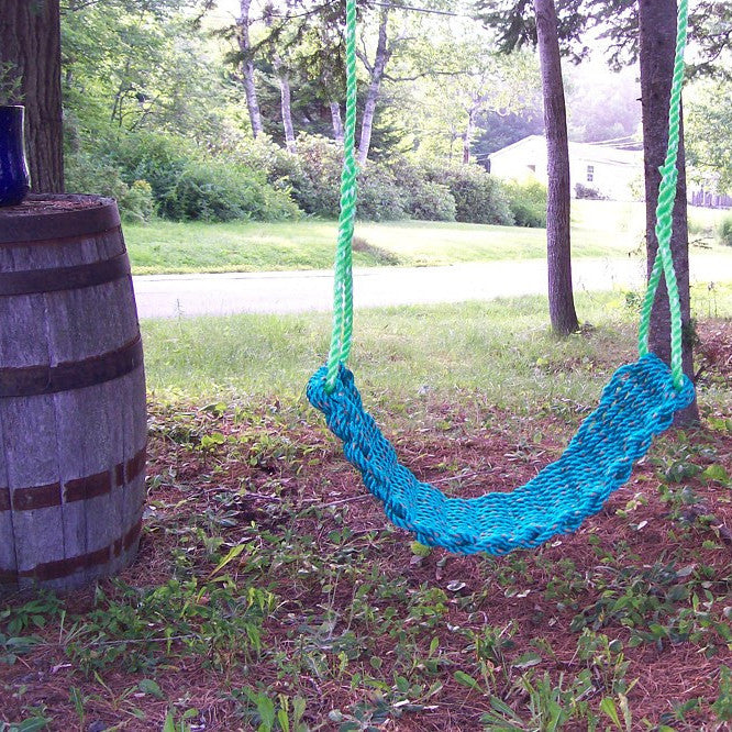 Maine Lobster Rope Swing - Blue - Bella Luna Toys