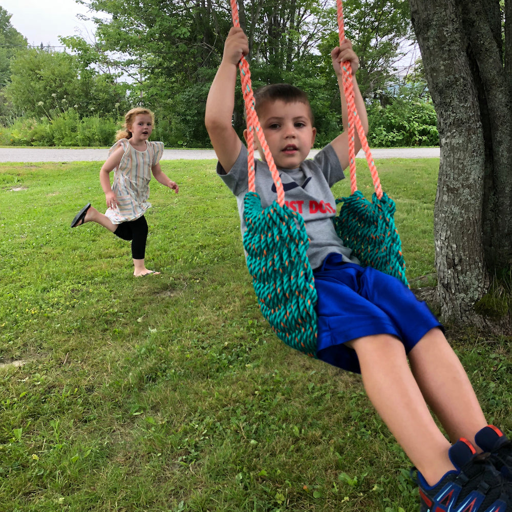 Maine Lobster Rope Swing - Green - Bella Luna Toys