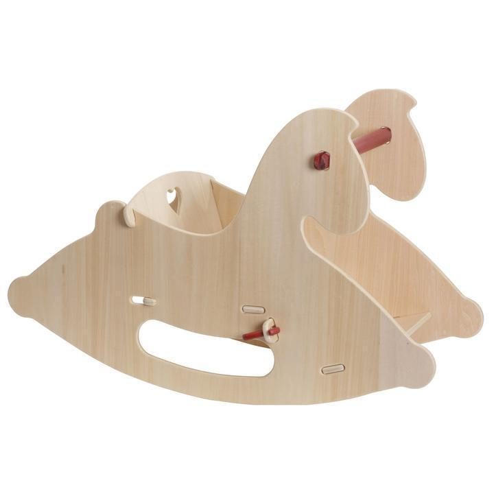 Moover Wooden Rocking Horse - Natural - Bella Luna Toys