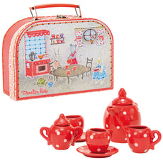 Moulin Roty Kids Ceramic Toy Tea Set